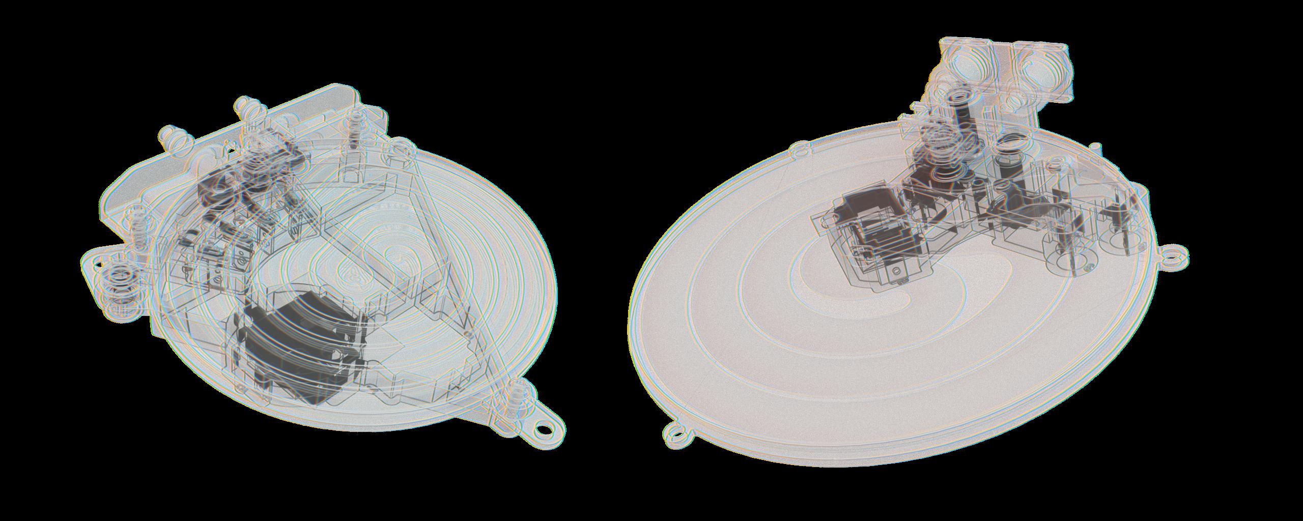 Blueprint view of Ferro Techniek products
